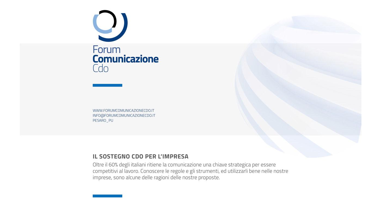 Skooter _ Web Forum Comunicazione Cdo